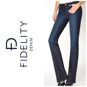 FIDELITY Japan Rose Skinny Flare Blues Jeans